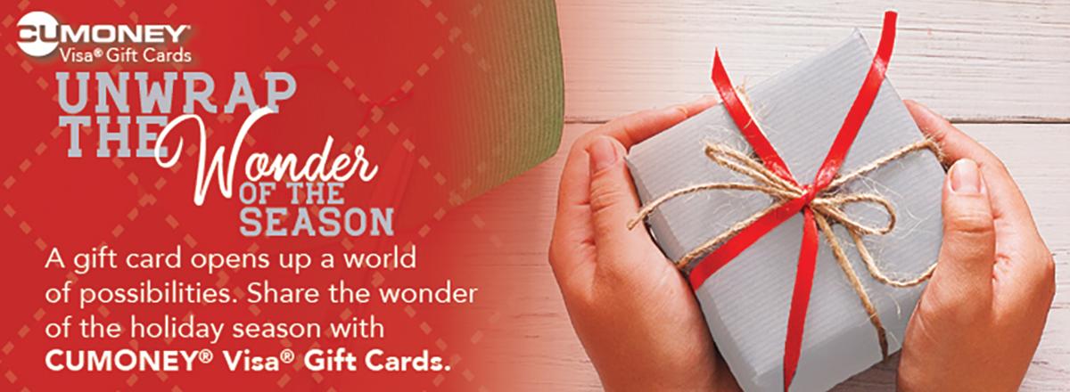 CU Money Gift Cards