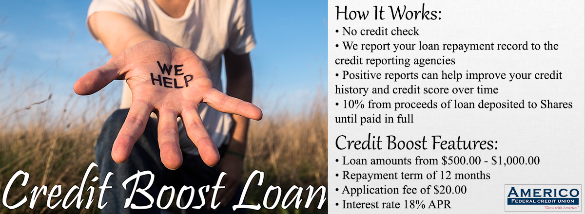 Credit Boost Loan